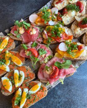 sandwich lunch by Dames Dietz