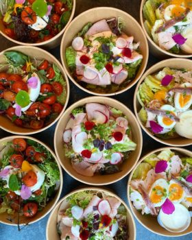 healthy lunch by Dames Dietz catering