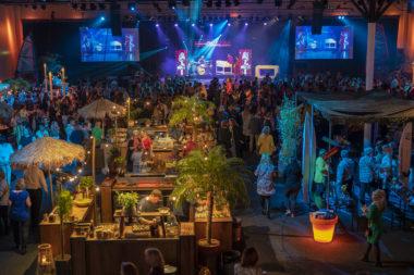 personeelsfeest 1200 personen